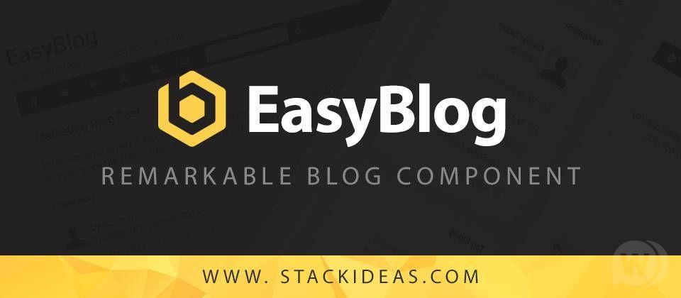 EasyBlog PRO v5.4.8 – blog component for Joomla