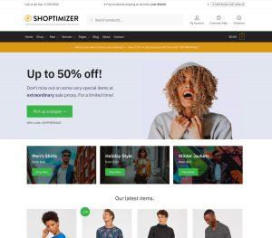 Shoptimizer - Nulled -The Fastest WooCommerce Theme
