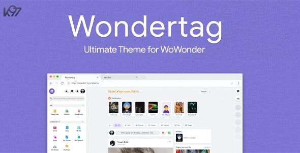 WONDERTAG – THE ULTIMATE WOWONDER THEME DOWNLOAD