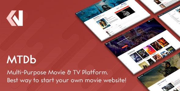 MTDb v3.2.4 – site script with movies and TV shows