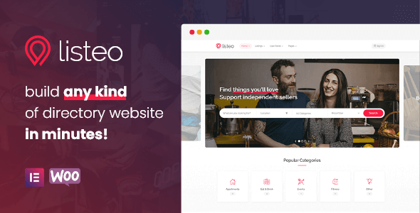 Listeo v1.7.02 – Directory & Listings With Booking – WordPress Theme