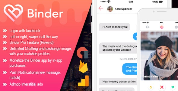 Binder v2.0.8 – Dating clone App with admin panel – iOS